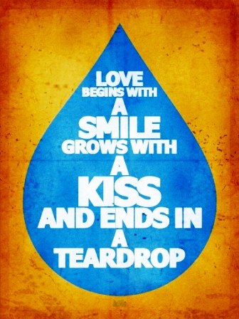 A Kiss And Ends in A Teardrop
