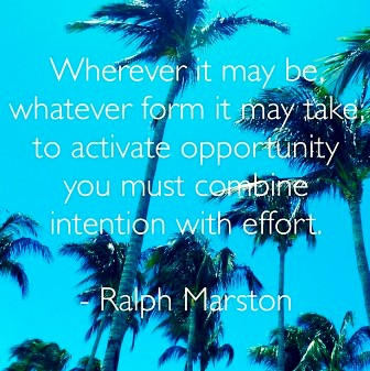 Intention With Effort